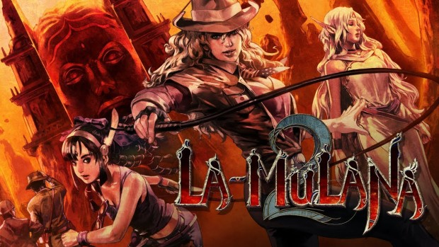 La-Mulana 2 official artwork and logo