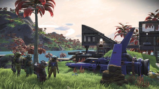 No Man's Sky Patch 1.5 screenshot of co-op gameplay