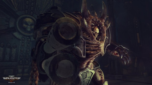 Warhammer 40k: Inquisitor - Martyr screenshot of an enemy from up close