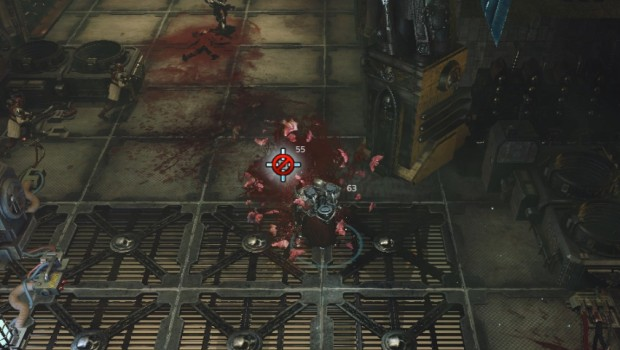 Warhammer 40k: Inquisitor - Martyr screenshot of the melee combat