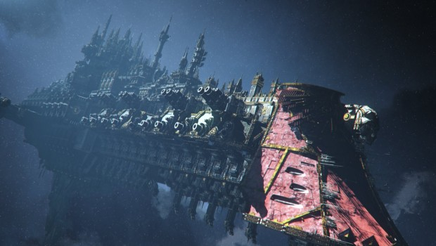 Warhammer 40k: Inquisitor - Martyr screenshot of a large Imperial ship