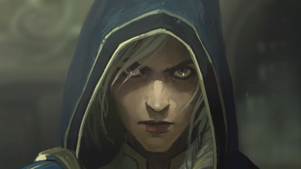 World of Warcraft: Battle for Azeroth artwork showing Jaina from the Warbringers animated short