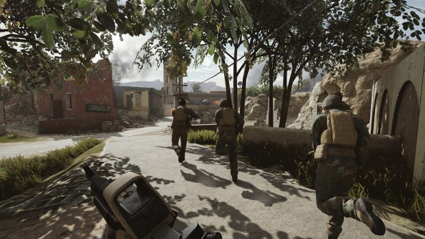 Insurgency: Sandstorm official gameplay screenshot of a ruined village