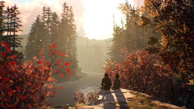 Life is Strange 2 - two brothers watching a sunset
