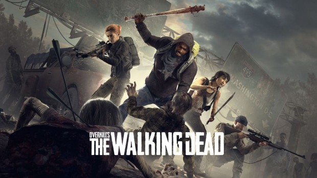 Overkill's The Walking Dead official artwork and logo