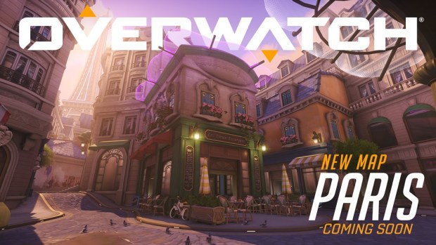 Overwatch artwork for the brand new map set in Paris