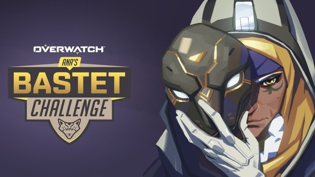 Official Overwatch artwork for Ana's Bastet challenge