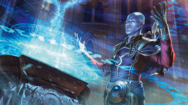 Magic: The Gathering official artwork for Ravnica Allegiance's Dovin Baan