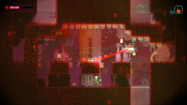 Screenshot of the game Skytorn from the team behind Celeste