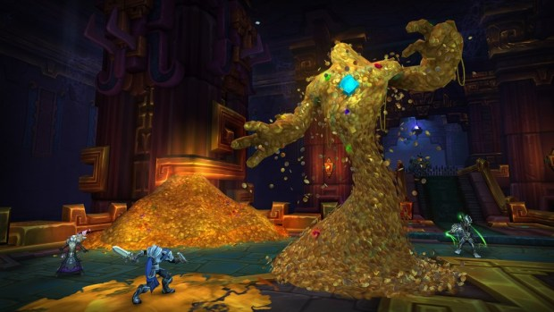 Battle for Dazal'alor screenshot of the Opulence boss fight