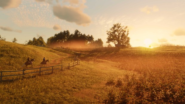 Red Dead Redemption 2 lovely screenshot from the PC version