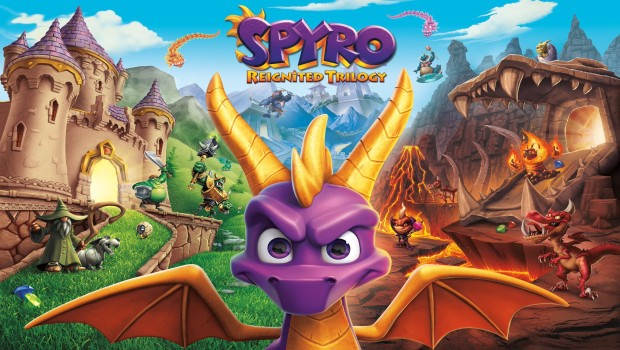 Spyro Reignited Trilogy official artwork and logo