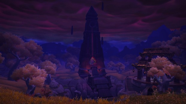 World of Warcraft screenshot of Pandaria from the upcoming Patch 8.3