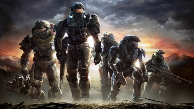 Halo Reach official artwork without the logo