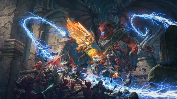 Pathfinder: Wrath of the Righteous official artwork without the logo