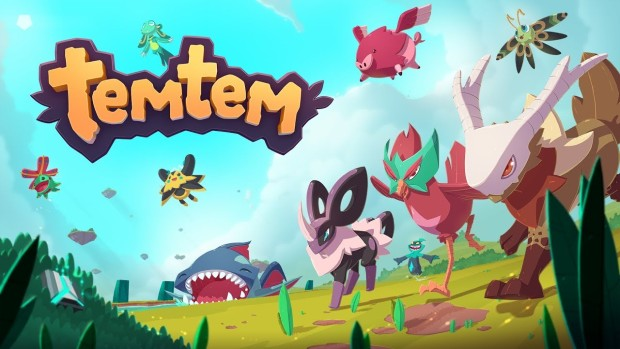 Official artwork and logo for the game TemTem