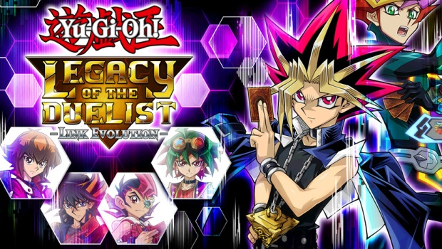 Yu-Gi-Oh! Legacy of the Duelist: Link Evolution official artwork and logo