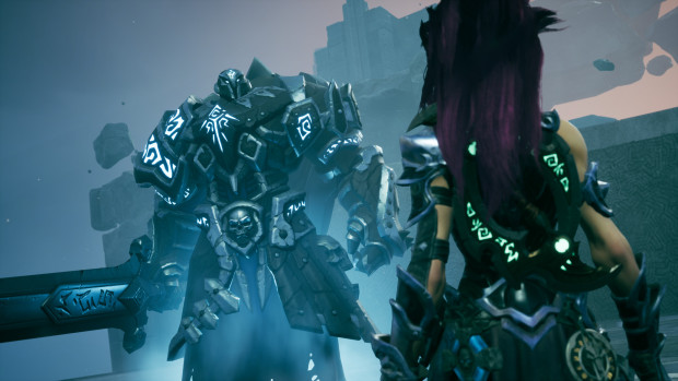 Darksiders 3 screenshot of Fury from The Crucible DLC