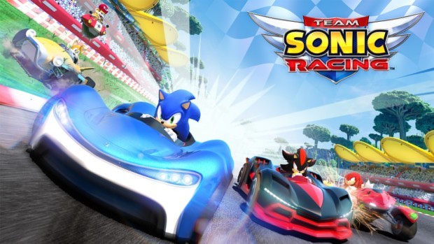 Team Sonic Racing official artwork and logo