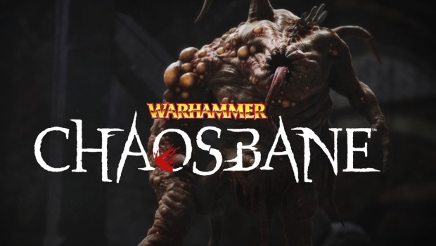 Warhammer: Chaosbane official artwork and logo