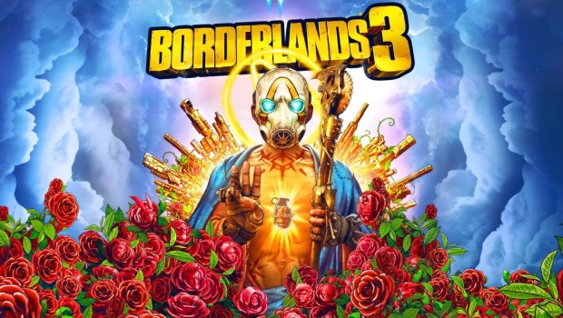 Borderlands 3 official artwork and logo