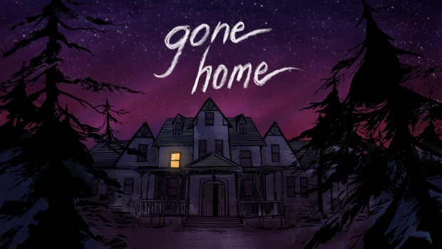 Gone Home official artwork and logo