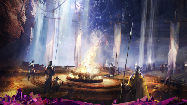 Guild Wars 2 artwork for the living world storyline
