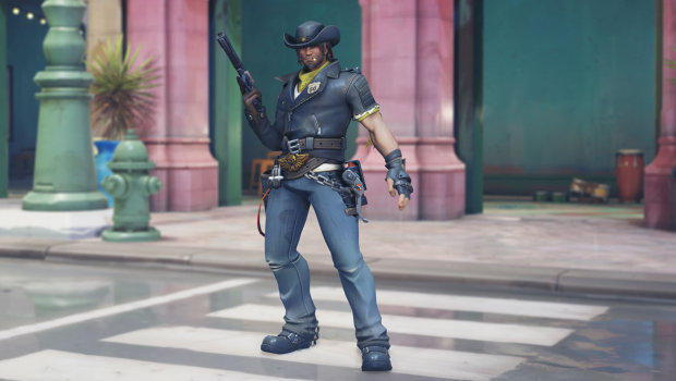 Overwatch Anniversary 2019 screenshot of Deadlock McCree