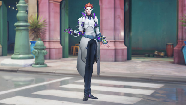 Overwatch Anniversary 2019 screenshot of Scientist Moira