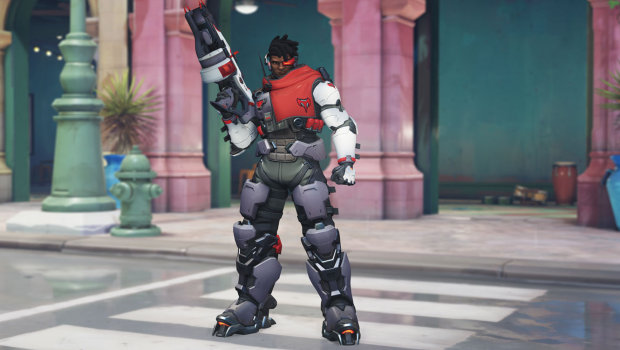 Overwatch Anniversary 2019 screenshot of Talon Baptiste