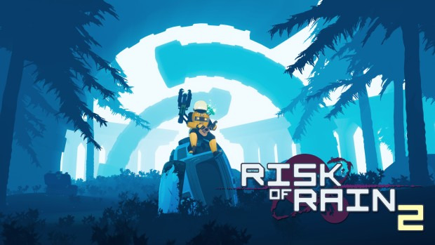 Risk of Rain 2 official artwork and logo