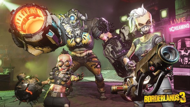 Borderlands 3 screenshot showing off the Children of the Vault characters