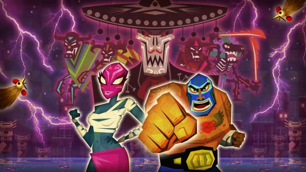 Guacamelee official artwork without the logo