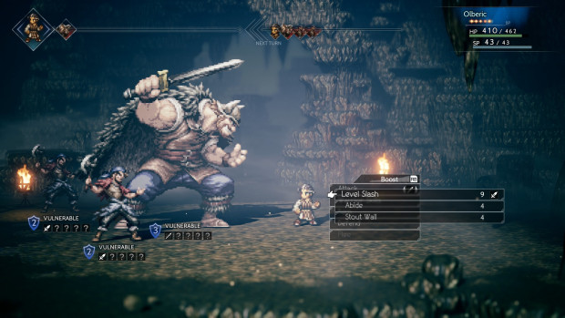 Octopath Traveler screenshot from the PC version