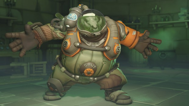 Overwatch Anniversary 2019 screenshot of the new Roadhog skin