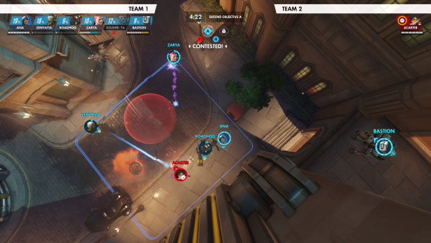 Overwatch screenshot of the new replay system