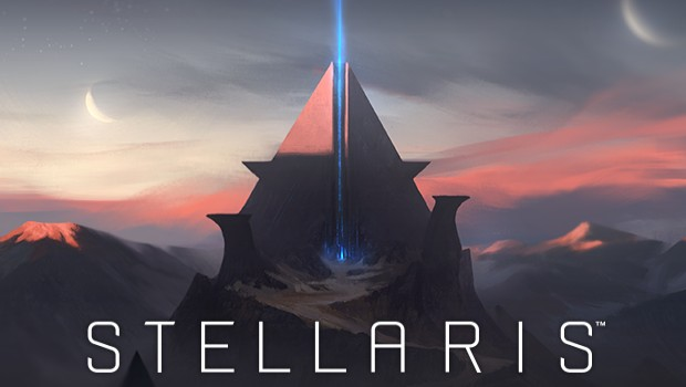Official artwork for Stellaris' Ancient Relics expansion