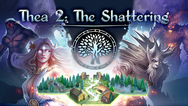 Thea 2: The Shattering official artwork and logo
