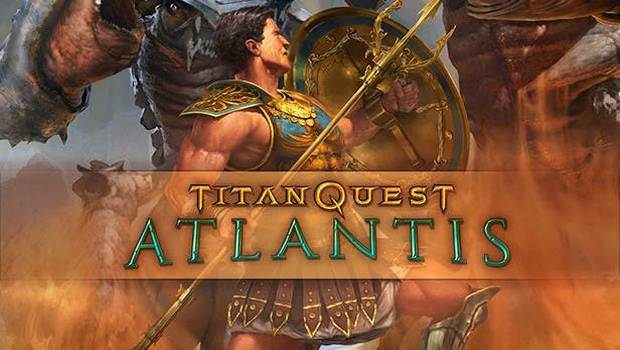 Titan Quest: Atlantis official artwork and logo