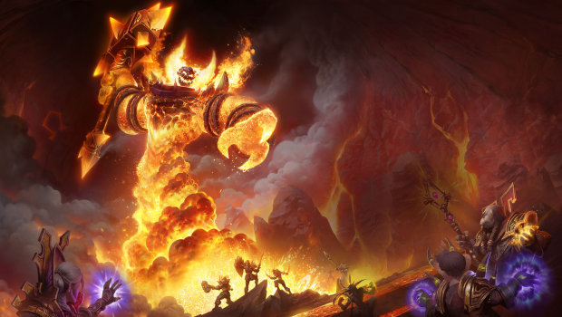 World of Warcraft: Classic artwork for Ragnaros