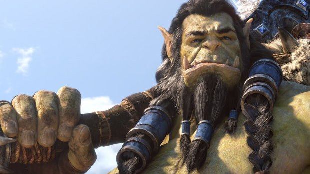 Close up screenshot of Thrall from World of Warcraft's newest cinematic Safe Haven