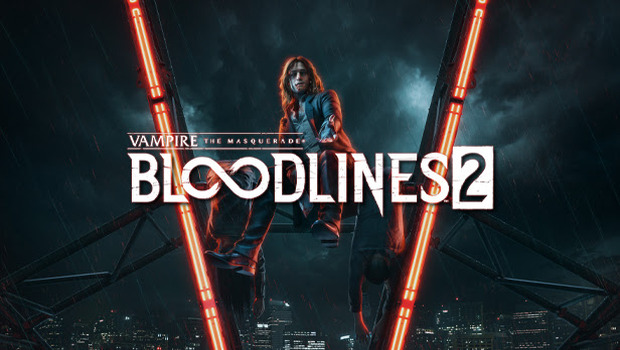 Vampire: The Masquerade - Bloodlines 2 official artwork and logo