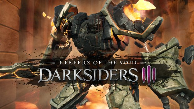 Darksiders 3 Keepers of the Void DLC official artwork and logo