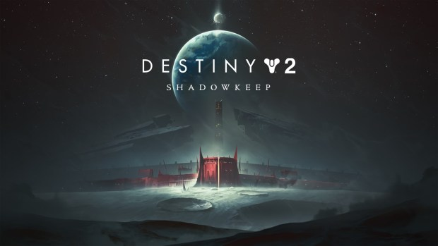 Destiny 2 official artwork for the Shadowkeep expansion with the logo