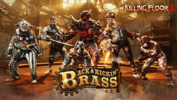 Killing Floor 2: Back and Kicking Brass update official artwork