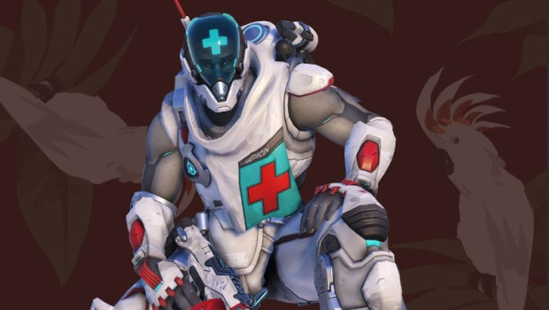 Overwatch screenshot of the new Combat Medic Baptiste skin