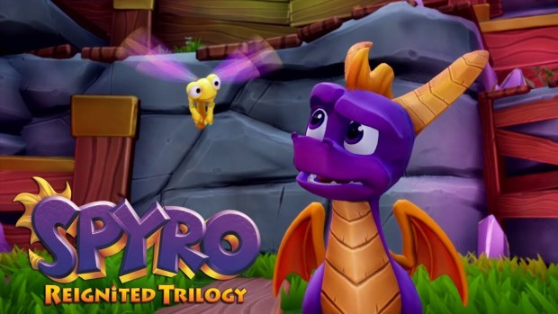 Spyro Reignited Trilogy official screenshot of Spyro up close