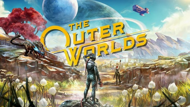 Obsidian's The Outer Worlds official artwork and logo