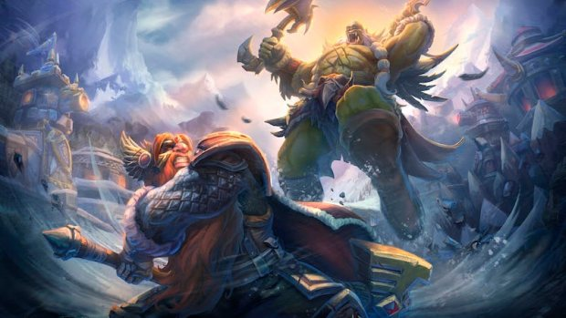 World of Warcraft artwork for Alterac Valley