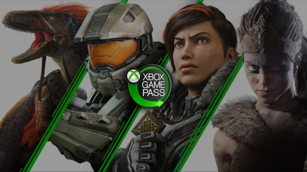 Xbox Game Pass official artwork and small logo